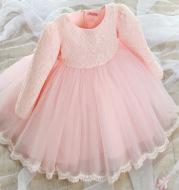 Lace princess dress girls summer dress