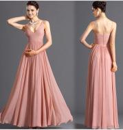 Chiffon dress bridesmaid dress