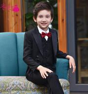 Children Suit Tuxedo Suit show host boy boy show flower girl dress suit