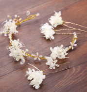 Handmade wreath headwear