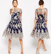 Temperament Vintage Dress Skirt Dress
