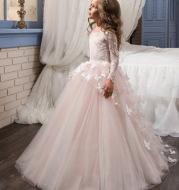 Princess dress flower girl evening dress