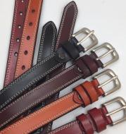 Car thread ladies belt belt cowhide needle