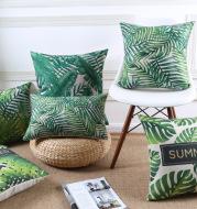 Tropical rain forest sofa pillow cushion