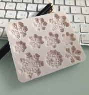 Christmas snowflake silicone mold