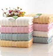 Bamboo fiber water ripple towel