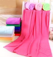 Microfiber bath towel beach towel