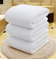 Pure cotton thickened bath towel