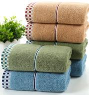 Soft absorbent facial towel couple adult towel