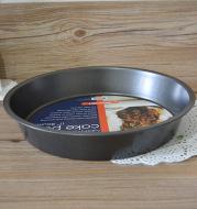 (11 inch) deep / shallow pizza disc eleven inch round non stick stick carbon steel baking pan die