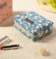 New Travel Wash Bag waterproof fashion cotton make-up package South Korea Mini cute cosmetics receipt wholesale