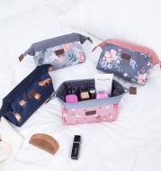 Flamingo cosmetic bag