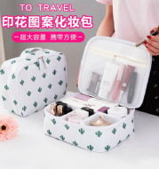 Factory direct South Korean version of the new large capacity travel laundry bag classification package cosmetics package cosmetics package
