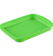Spot wholesale silica gel cake mold oven with baking tool resistant to high temperature rectangular cake baking tray