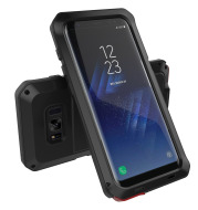 Metal rugged phone case