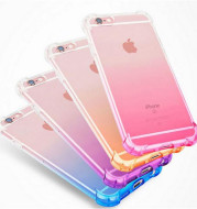 Apple cell phone shell 7plus thickening gradient TPU four angle air bag anti fall silica gel sleeve iphone7 protection sleeve