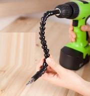 Angle Drill Flexible Shaft Bit Kit Extension Screwdriver Bit Holder+black Universal Flexible Shaft Screwdriver Set