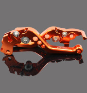 Six-speed adjustable horns for motorcycle modification parts KTM DUKE125/200DUKE390