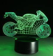 Motorcycle led desk lamp
