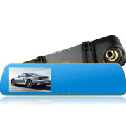 Car rearview mirror driving recorder