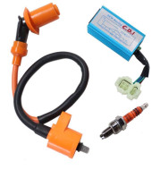Multi-angle ignition spark plug