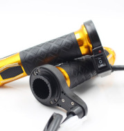 Motorcycle accessories electric gloves rotating handle