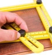 Multifunction Four Folding Measuring Ruler