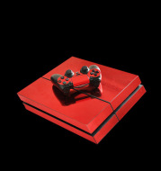 Plating Foil Plating Sticker PS4 Game Foil Red Glossy Glossy Sticker