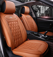 Universal Four Seasons Full Leather Car Seat Cushion