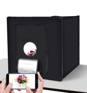 LED studio 60cmLED light box studio suit small LED photo box