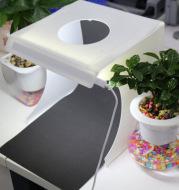 Mini studio small photo studio props folding LED studio LED photo studio
