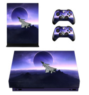 XboxOneX game machine sticker PVC material with air guide slot can be repeated one piece of wholesale