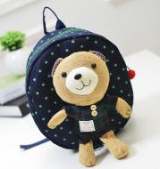 Cute Baby Backpack Anti-lost Bear Cartoon