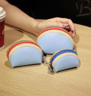Creative Three-piece Women's Zipper Mini Wallet