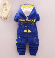 Children's autumn and winter coat suit