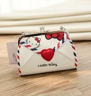 Factory direct hellokitty zero wallet student children Korean plate chain small package American Le Di cartoon key bag