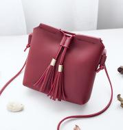 Women's Tassel Mini Mobile Phone Coin Messenger Bag