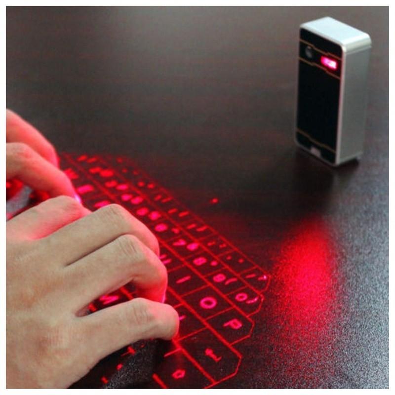2775320828130 - Bluetooth Wireless Laser Keyboard