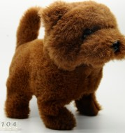12,12 bursting new product electronic pet plush electric puppy hair Cute YANGHANGTOYS