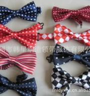 Zhejiang Shengzhou City Han tie direct manufacturers trade ties and bow tie pet boy child