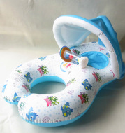 Thicken Environmentally Friendly Swimming Ring With Bell For Mother And Child