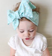 Hair tie baby lace bow hair accessories
