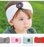 Baby wool headband hand-woven hair accessories