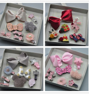New baby hairpin and headband suit
