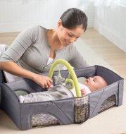 Baby Safety Isolation Bed Portable Folding Baby Crib Mummy Bag Newborn Cotton Sleep Travel Bed
