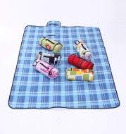 Velvet aluminum film picnic mat