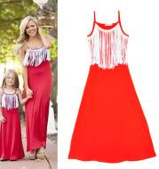 Summer 2021 new parent-child beach skirt