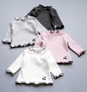 Korean cotton bottoming shirt