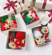 Girls hair accessories gift box christmas set