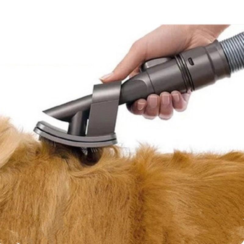 Pet Grooming Brush Tool Pet Vacuum Cleaner Brush Attachment